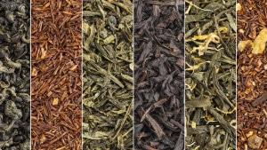 Divers thés en vrac